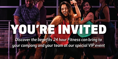 24 Hour Fitness Brentwood VIP Sneak Peek