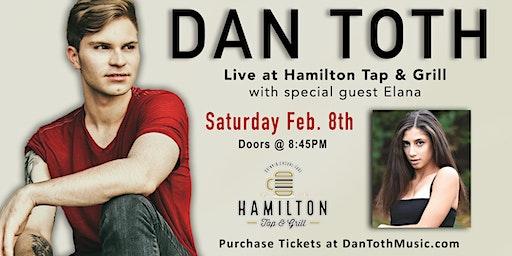 Dan Toth: Live @ Hamilton Tap & Grill (Main Hall)