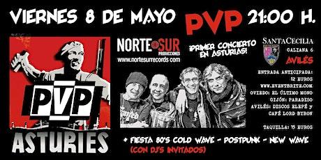 PVP en Asturias entradas