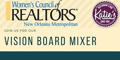 Women's Council of Realtors Vision Board Mixer tickets