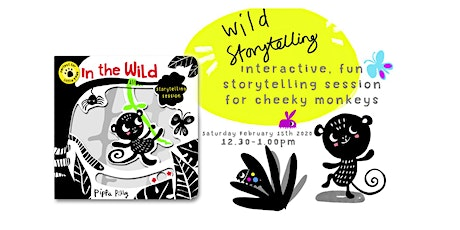 Little Monkeys Interactive Storytelling Session tickets