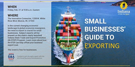 SMALL BUSINESSES' GUIDE TO EXPORTING