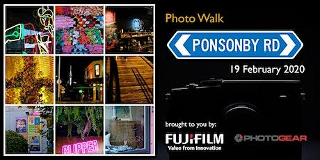 Ponsonby Photo Walk tickets