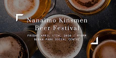 Nanaimo Kinsmen Beer Festival tickets