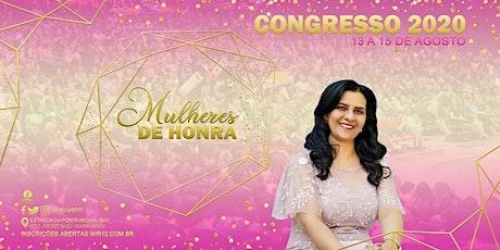 Congresso de Mulheres ingressos