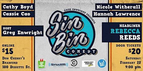 Sin Bin Comedy Show #51 tickets
