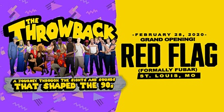 The Throwback Party at Red Flag tickets