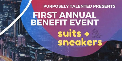 Suits and Sneakers Charity Fundraiser