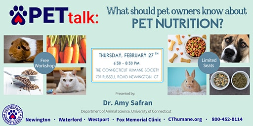 PETtalk: What should pet owners know about pet nutrition?