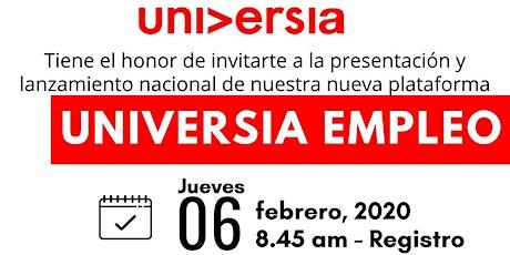 Presentación y Lanzamiento Universia Empleo tickets