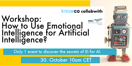 WORKSHOP: How toUse Emotional Intelligence for Artificial Intelligence? tickets