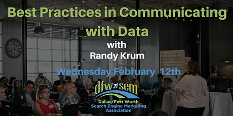 Best Practices for Communicating with Data - February 2020 tickets