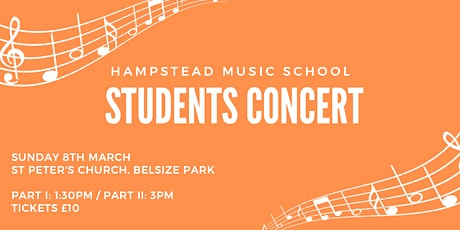 Hampstead Music School Students Concert at St Peter's Church tickets