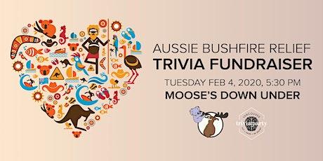 AUSSIE BUSHFIRE RELIEF TRIVIA FUNDRAISER tickets