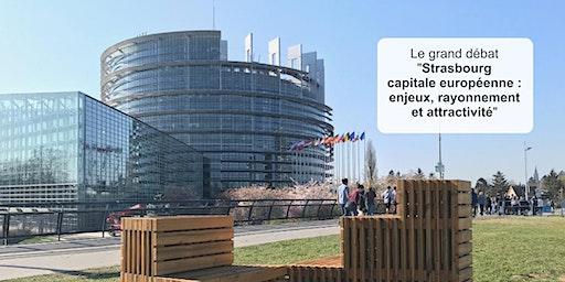 Strasbourg capitale européenne :  enjeux, rayonnement et attractivité
