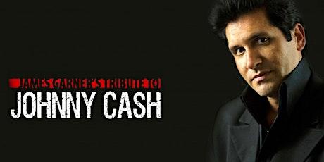 James Garner's Johnny Cash Christmas tickets