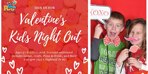 Kid's Night Out: Valentine's Day Edition