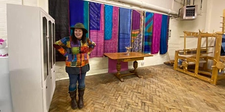 Weaving with recycled vintage sari silk 8th March tickets