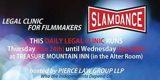 Slamdance 2020 | LEGAL CLINIC for filmmakers
