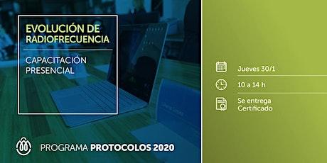 PROTOCOLOS 2020 - Evolución de RadioFrecuencia entradas