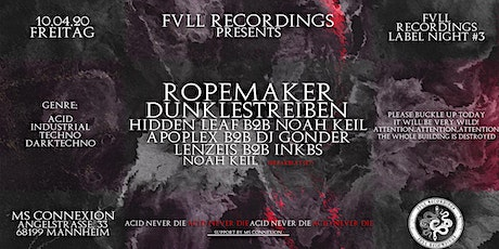 Fvll Recordings Label Night #3 Tickets