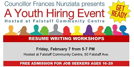 Resume Writing Workshop tickets