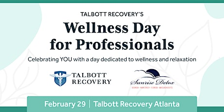 Talbott's Day of Wellness for Professionals tickets