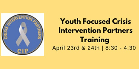 Youth Focused Crisis Intervention Partners (CIP) tickets
