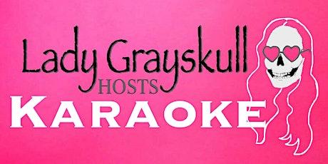 Lady Grayskull hosts Karaoke tickets