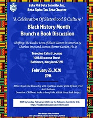FWO: A Celebration of Sisterhood & Culture: A Black History Brunch & Book Discussion tickets