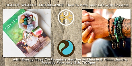 Health, Wealth & Balance: How To Hack Your Energy with Crystals tickets