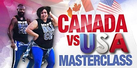 CANADA VS USA ZUMBA MASTERCLASS tickets