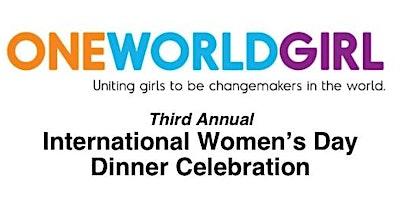Third Annual International Women's Day Dinner Celebration