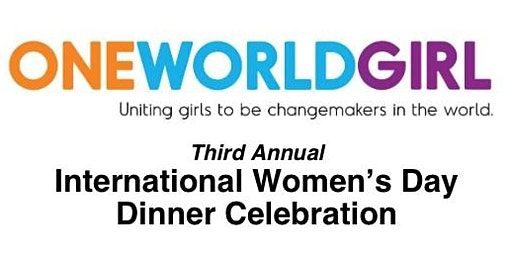 Third Annual International Women's Day Dinner Celebration