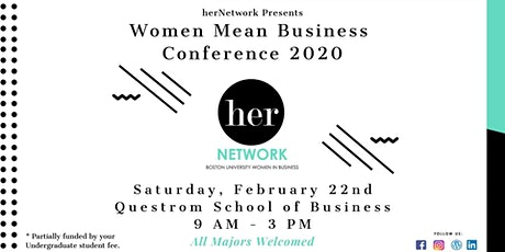 herNetwork: Women Mean Business: Spring 2020 tickets