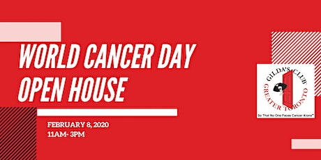 Gilda's Club Greater Toronto: World Cancer Day Open House tickets