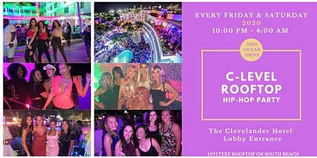 South Beach's Best Rooftop Party on Ocean Drive Every Fri & Sat Night 2020 tickets