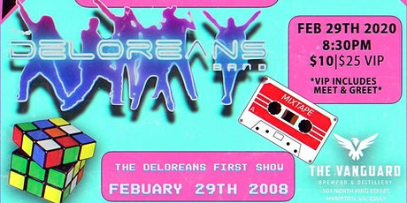 The Deloreans 12 year Anniversary Party tickets