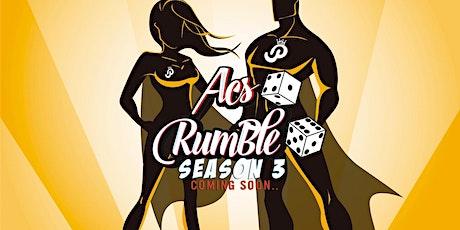 ACS Rumble Season 3 Final tickets