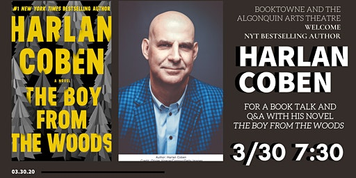 NYT Bestselling Author Harlan Coben at the Algonquin
