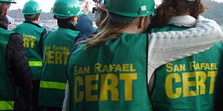 San Rafael CERT Quarterly Meeting/Training tickets
