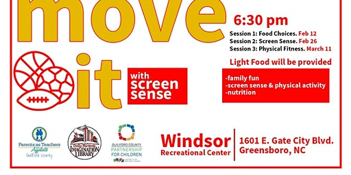 We Like to Move It Move It with Screen Sense Family Engagement Series