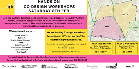 Levy Bee Network - Hands On Co-Design Workshop - Area 1 tickets