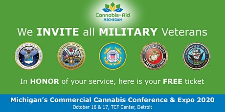 Midwest MILITARY VETERANS for Cannabis - Michigan's Commercial Cannabis Conference & Expo tickets