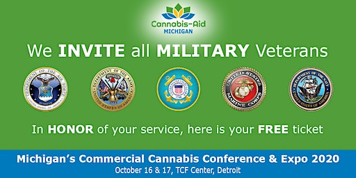 Midwest MILITARY VETERANS for Cannabis - Michigan's Commercial Cannabis Conference & Expo