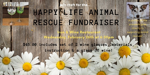 Crafts & Cocktails: Happy Life Animal Rescue Fundraiser