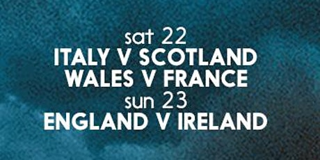 6 Nations Round 3 @ The Jollies tickets
