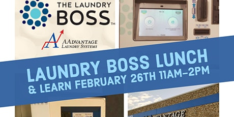 AAdvantage Saves... presents Laundry Boss Lunch & Learn tickets