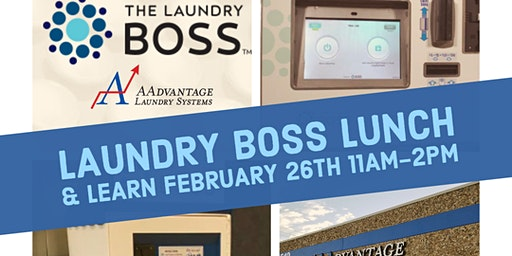 AAdvantage Saves... presents Laundry Boss Lunch & Learn