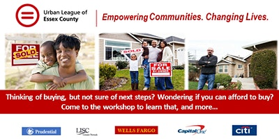 First Time Home Buyer Workshop.  Want $5,000 Towards Your Purchase?